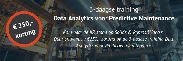training Data Analytics voor predictive maintenance