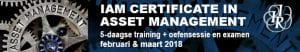 Certificate in Asset Management