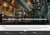 Data Analytics voor Predictive Maintenance | IIR