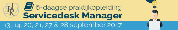 Servicedesk Manager-IIR