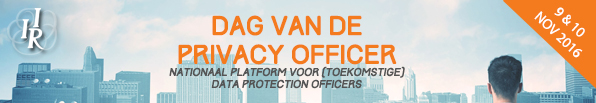 Dag van de Privacy Officer 2016 IIR