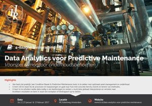 Data Analytics voor Predictive Maintenance