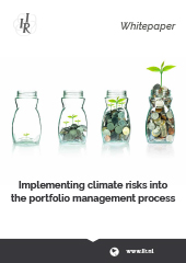 Whitepaper: Implementing climate risks into the portfolio management process